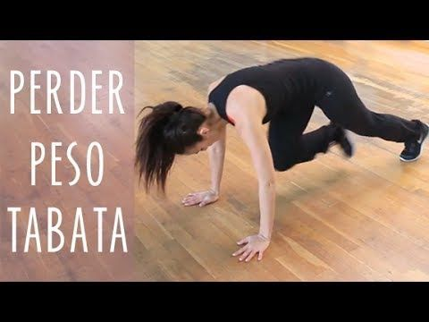RUTINA PARA ADELGAZAR TABATA - YouTube