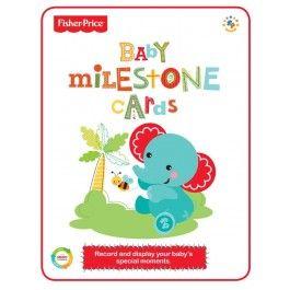 Baby Milestone Cards $19.95