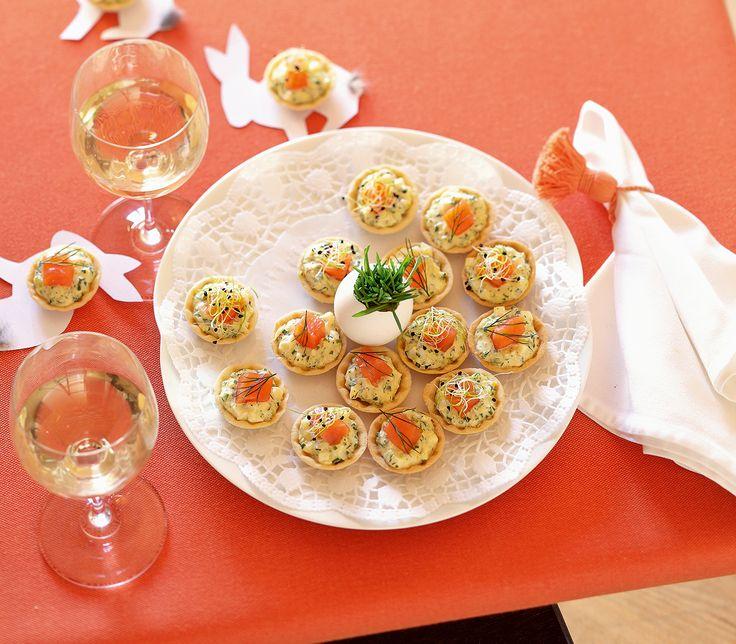 An Ostern darf eines auf dem Tisch sicher nicht fehlen: Eier. Mit verschiedenen Kräutern gewürzt werden sie zum feinen Häppchen.