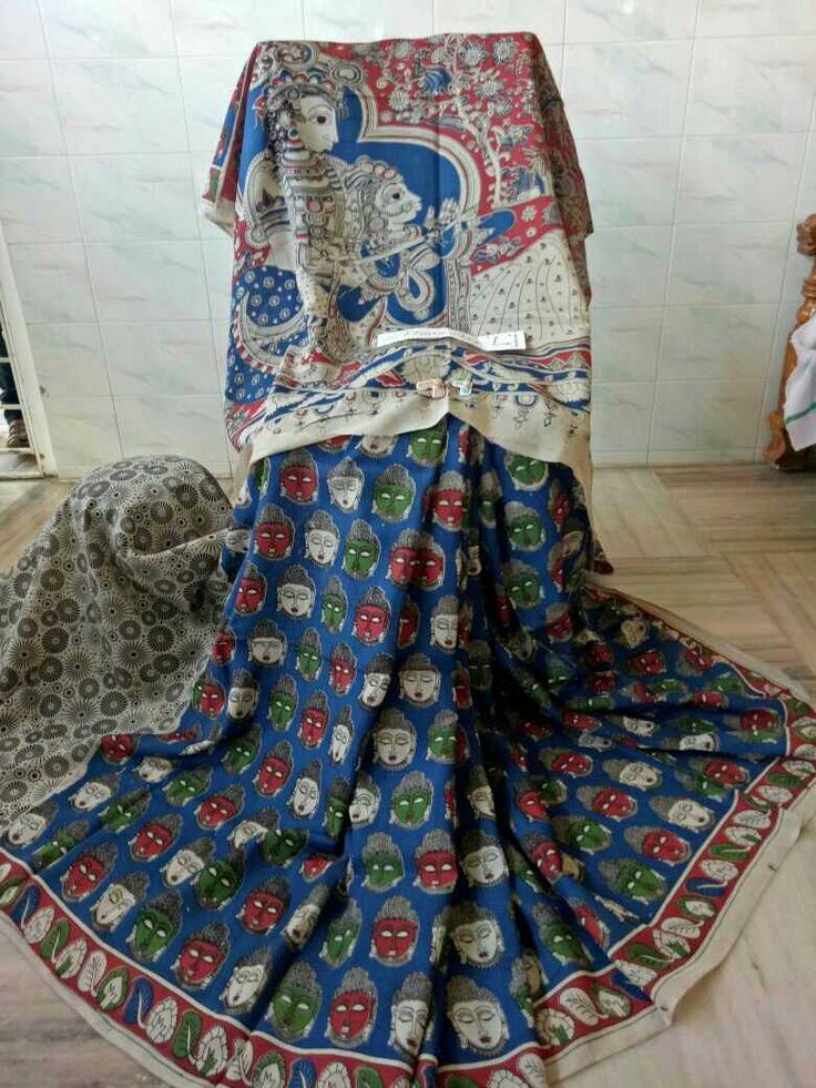 Kalamkari silk cotton sarees 005