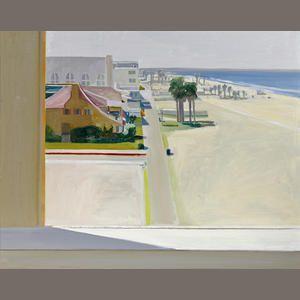 Larry Cohen (born 1952) View of Santa Monica Beach, 1980 30 x 40in. (76.2 x 101.6cm)
