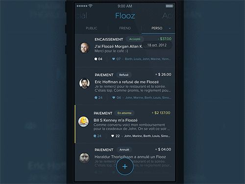 20 Incredible Mobile UI Animations in GIFs   The Design Inspiration