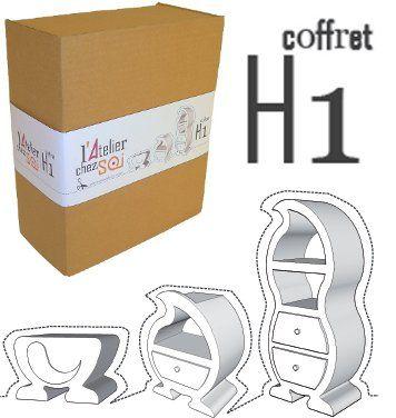 81 best meubles en carton images on Pinterest Cardboard furniture - Fabriquer Une Chambre Noire En Carton