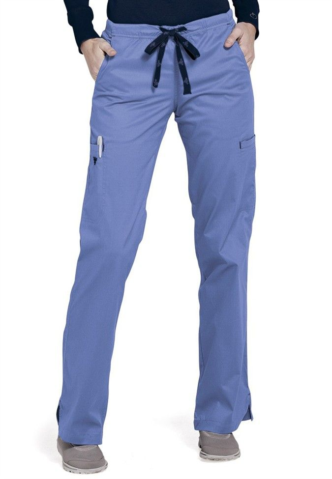 Med Couture Moda Modern Fit Cargo Scrub Pants Scrubs And