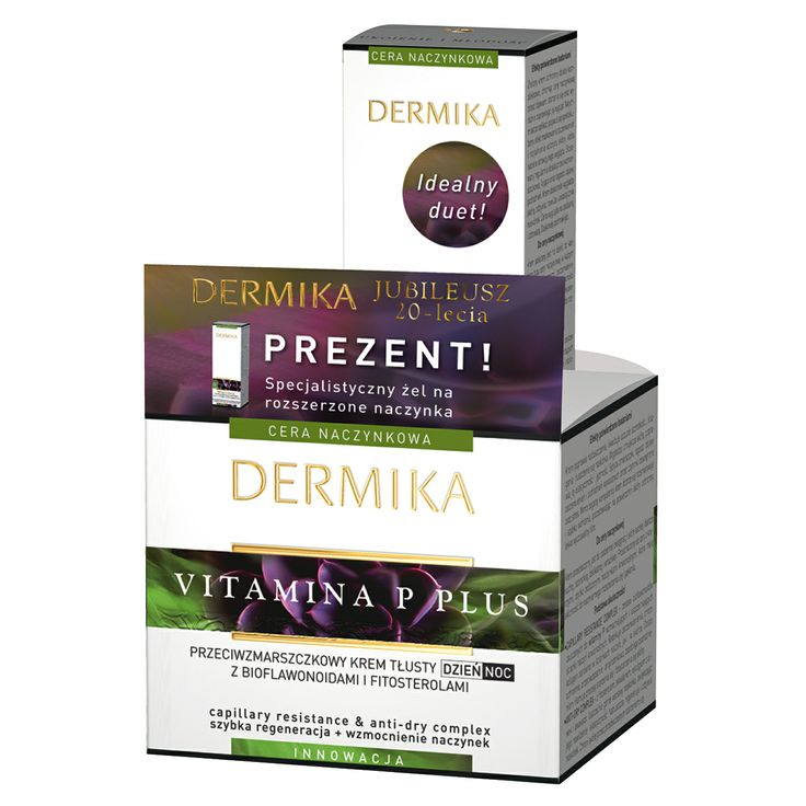 Krem do twarzy Dermika Vitamina P Plus