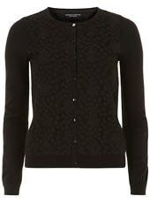 Black long sleeved lace front cardigan #ShareTheLove
