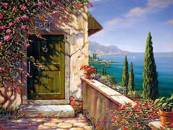 Green Door in Capri Bob Pejman
