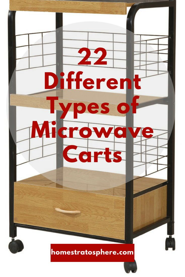 22 different types of microwave carts