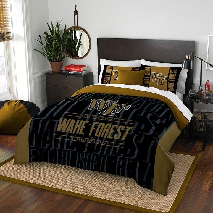Northwest Wake Forest Demon Deacons Modern Take Full/Queen Comforter Set by Northwest