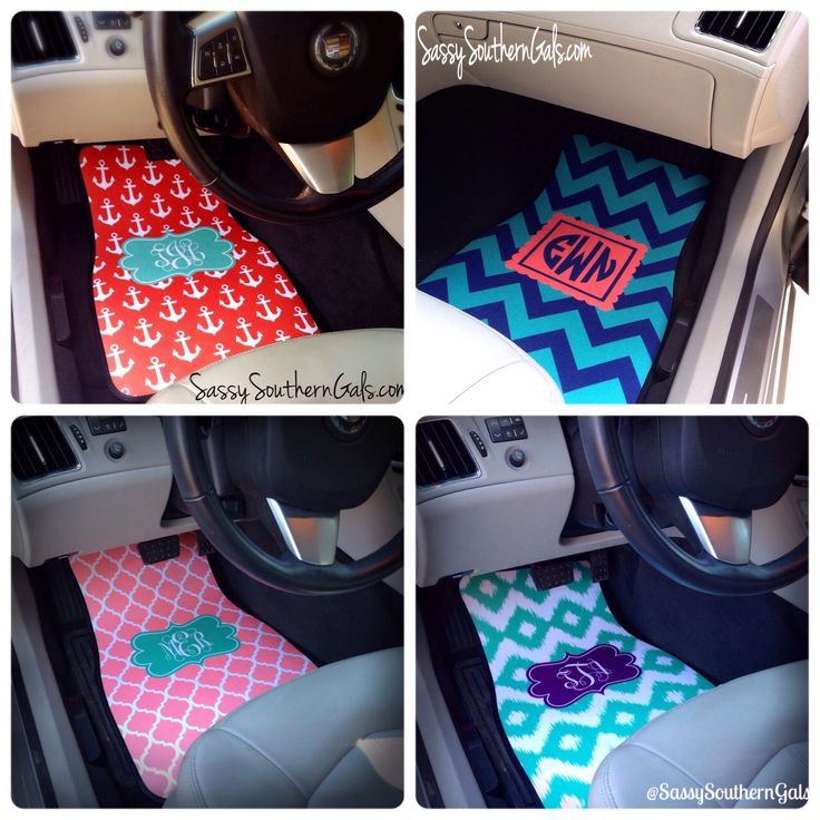 boho chic pink black floral from sassy southern gals sweet sixteen gifts custom car mats. Black Bedroom Furniture Sets. Home Design Ideas