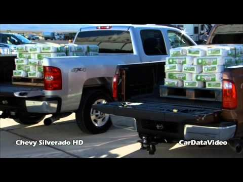Chevy Silverado HD Pickup - Payload Test vs.Ford SuperDuty Video