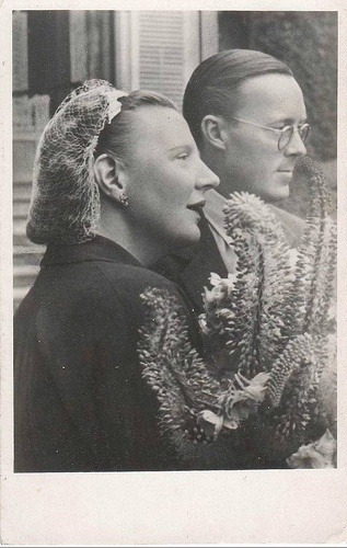 Prince Bernhard of Lippe-Biesterfeld and Queen Juliana of the Netherlands  Married: 7 January 1937 in The Hague