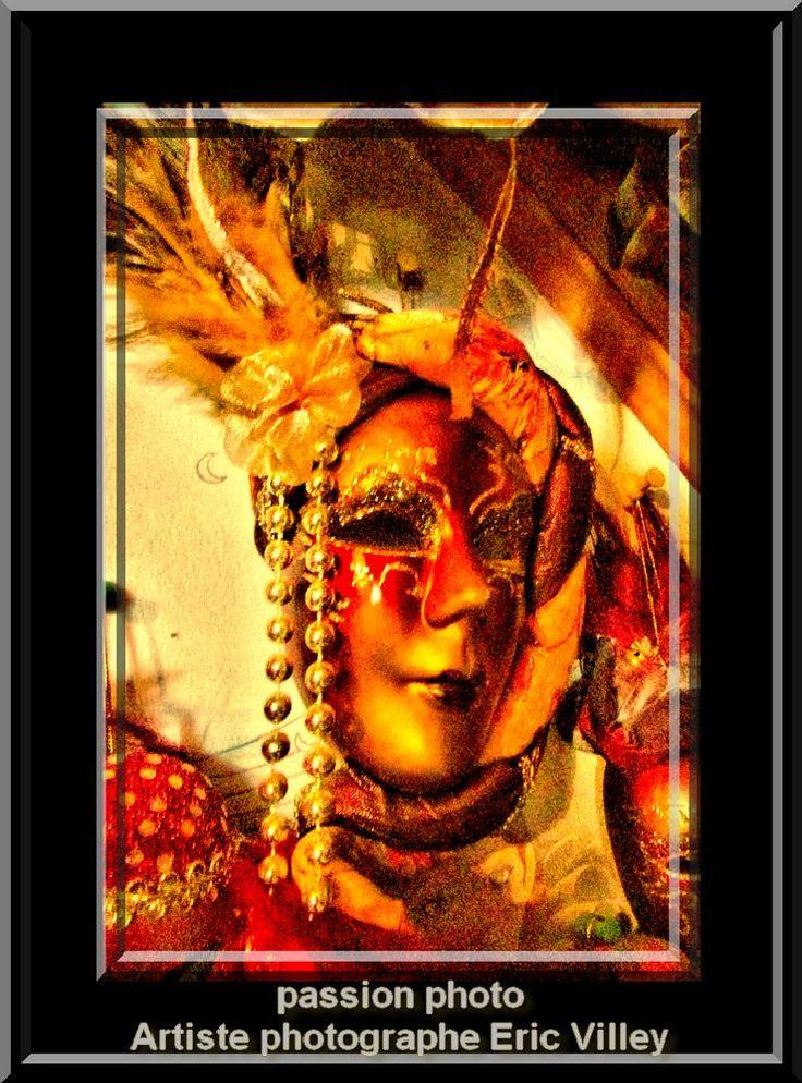 shoot masque.... by Artiste photographe -ERIC VILLEY