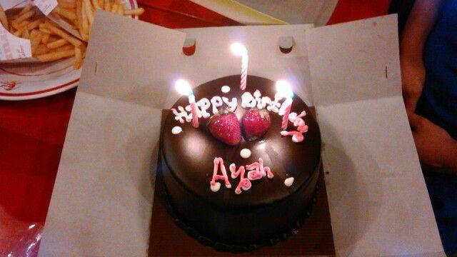 My Husband's Birthday Cake
