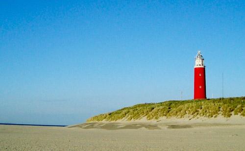 Thema Julian's kamer: Texel, strand en zee.