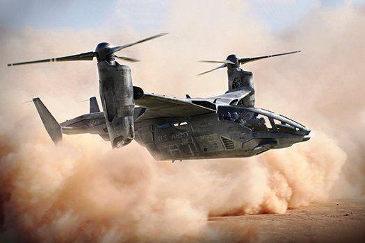 Vertical despegue y aterrizaje (VTOL), se convertirán en helicópteros aviones.