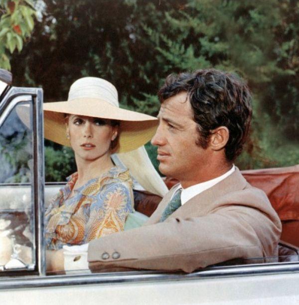 """Catherine Deneuve and Jean Paul Belmondo in """"La Sirène Du Mississipi,"""" 1969"""
