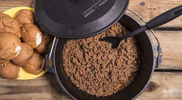 Easy Dutch Oven Sloppy Joes - 50 Campfires