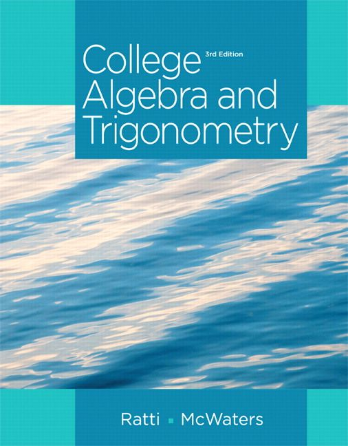 101 best test bank download images on pinterest nursing collage college algebra and trigonometry edition by j ratti marcus s fandeluxe Images