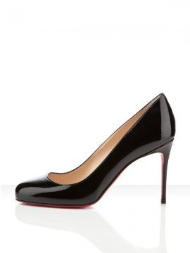 Christian Louboutin United States Official Online Boutique - Fifi 85 Black  Patent Leather available online. Discover more Women Shoes by Christian  Louboutin
