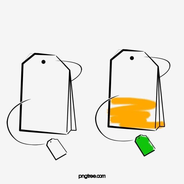 Hand Painted Simple Tea Bags Tea Bag Teabag Tea Png Transparent Clipart Image And Psd File For Free Download Drawing Bag Tea Bag Simple Doodles