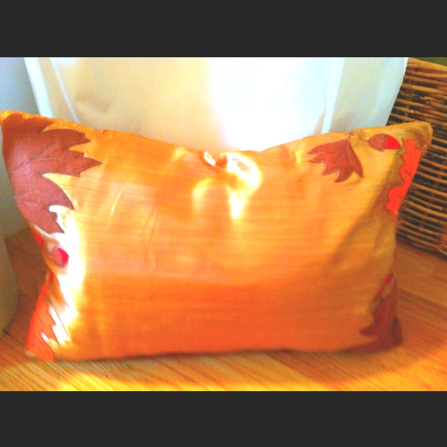 Domain Decorative Pillows Tj Maxx : Fall themed pillow using place mats from TJ Maxx Fall Decorating Pinterest Tj Maxx ...