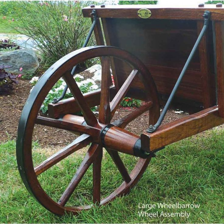 Wooden Wheel Barrels: Traditional Wooden Wheelbarrow Plans