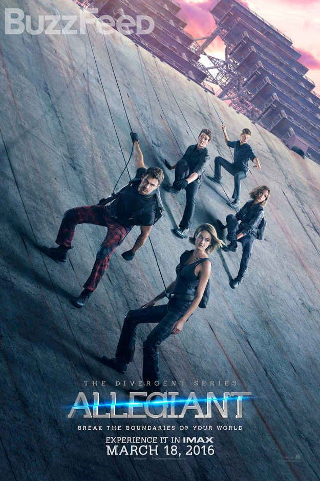 The Divergent Series: Allegiant (2016) Stars: Shailene Woodley, Theo James, Zoë Kravitz, Naomi Watts, Maggie Q, Jeff Daniels