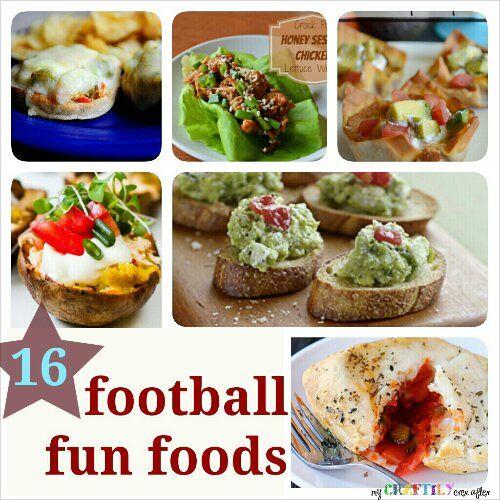 16 Fun Football Foods