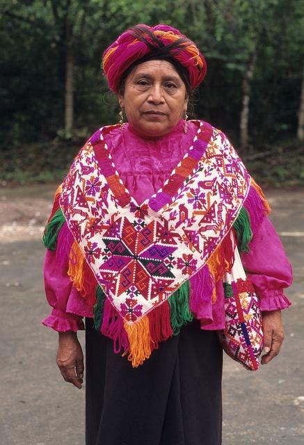 Tenek Huastec Woman Mexico
