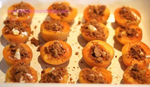 Vanilla Roasted Apricots