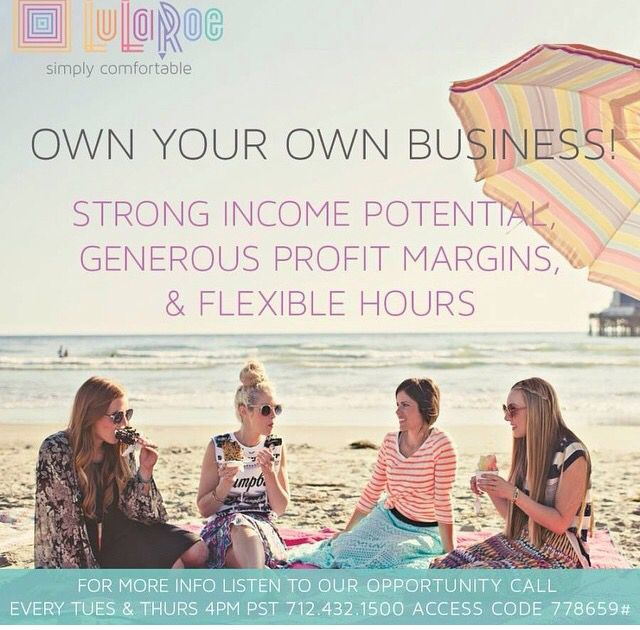 It's so fun & easy to earn around $1,000 a month by doing 4 parties. Call on Tuesday or Thursday at 4:00pm PST. 712-432-1500 code 778659#