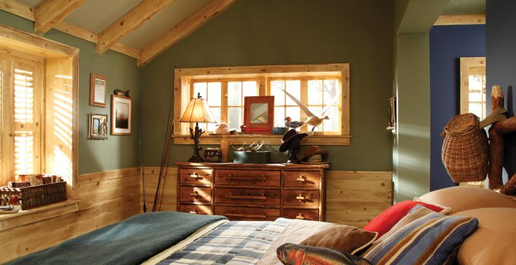 Wall Colour Inspiration: Green - Interior Colors - Inspirations