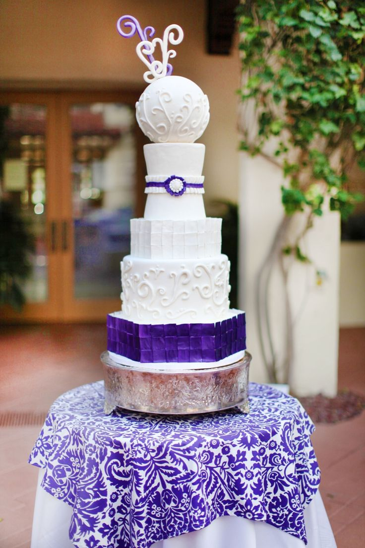 wedding cake steps 17 best images about perfectly purple wedding cake on 8772