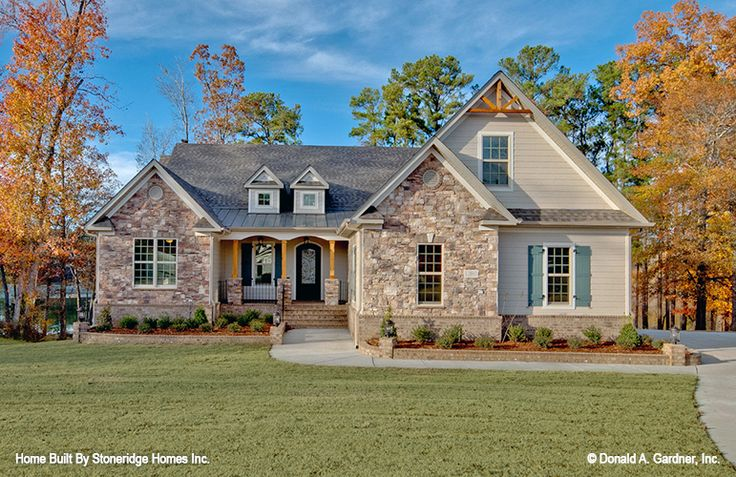 New photos of The Brodie home plan 1340-D! #WeDesignDreams #DonGardnerArchitects