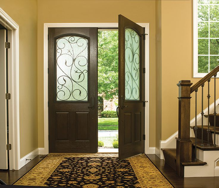 7 best entry doors images on pinterest double entry for Therma tru double entry doors