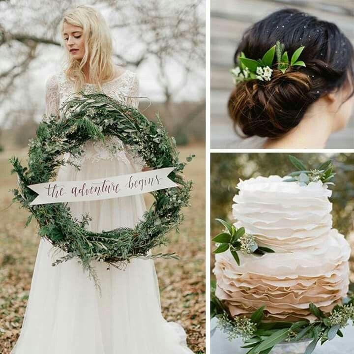 Natural kış düğünleri bu sezonun trendleri arasında...