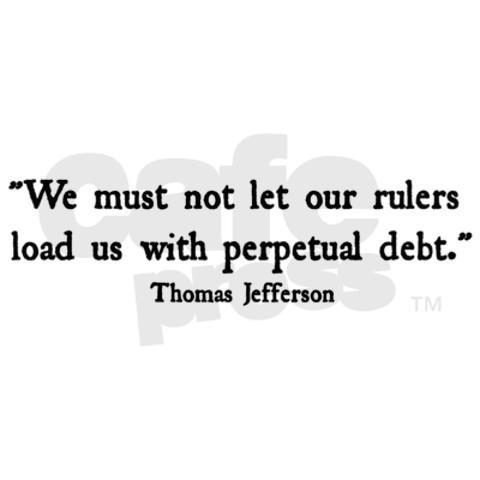 Debt bumper bumper sticker