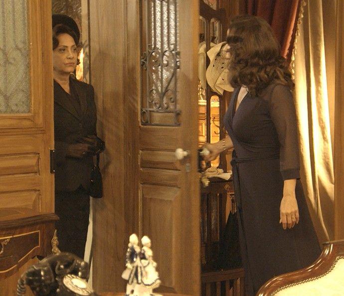 REDE ALPHA TV | ALÉM DO TEMPO | A REGRA DO JOGO: ÊTA MUNDO BOM | Anastácia decide desmascarar Sandr...