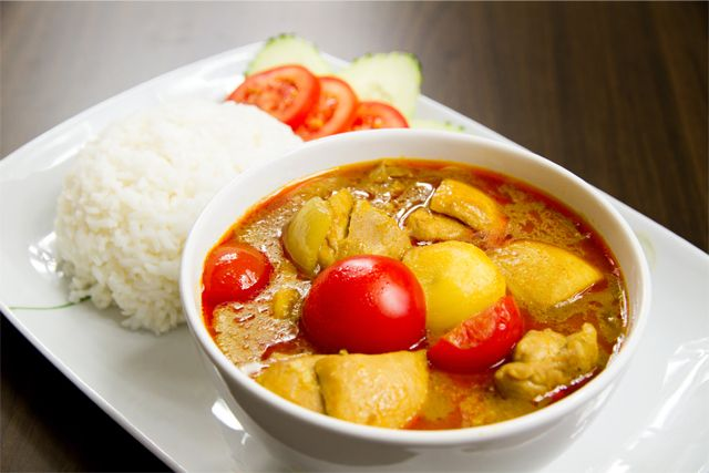 Pollo+con+curry+amarillo+(estilo+Thai)
