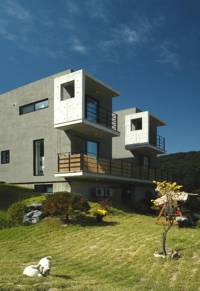 산빛마당 객실부분/방철린 Sanvit- Madang Residence by Bang, Chulrin / Architect Group CAAN