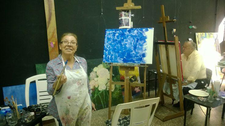 Graciela BOVETTI: Pintura y mas en Sabado