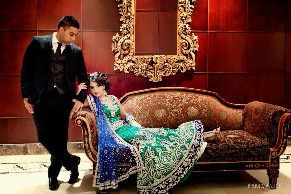 2-indian-wedding-bride-and-groom-portrait-green-blue