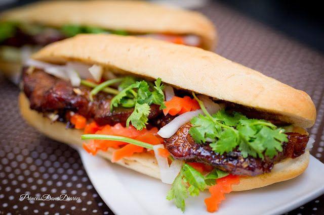 Banh Mi with lemongrass pork | Recipe | Pinterest