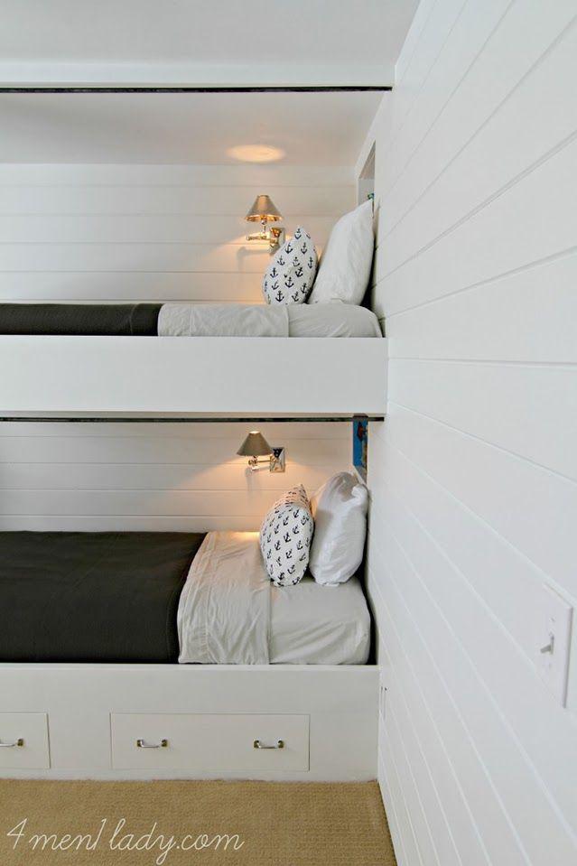 Inpiración naútica para decorar una habitación infantil con estilo