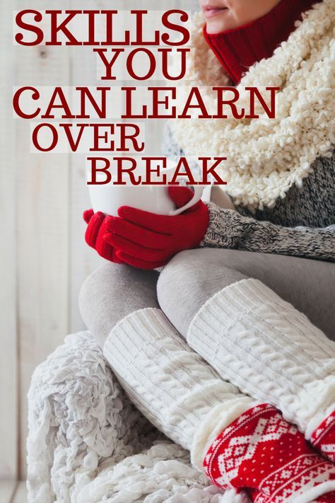 Want to come back to school after break with a cool new skill under your belt and an impressive new bullet point on your resume? Well you can, for free! Check out this list of skills you can learn online over break!