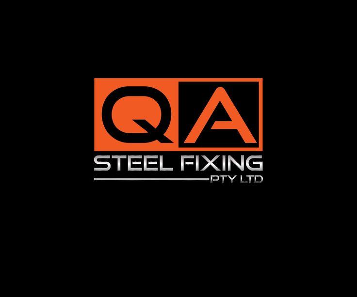 QA Steel Fixing  Logo Design Project Masculine, Bold Logo Design by Miss Creative