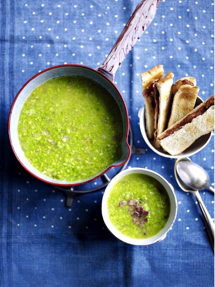 Pea soup, Soups and Recipe on Pinterest
