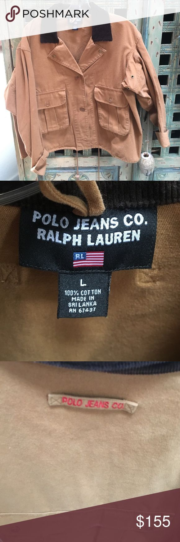 Polo jeans Co. Ralph Lauren Jacket. *Rare* Vintage•pristine quality•Polo Jeans Co. Ralph Lauren Jacket Polo by Ralph Lauren Jackets & Coats