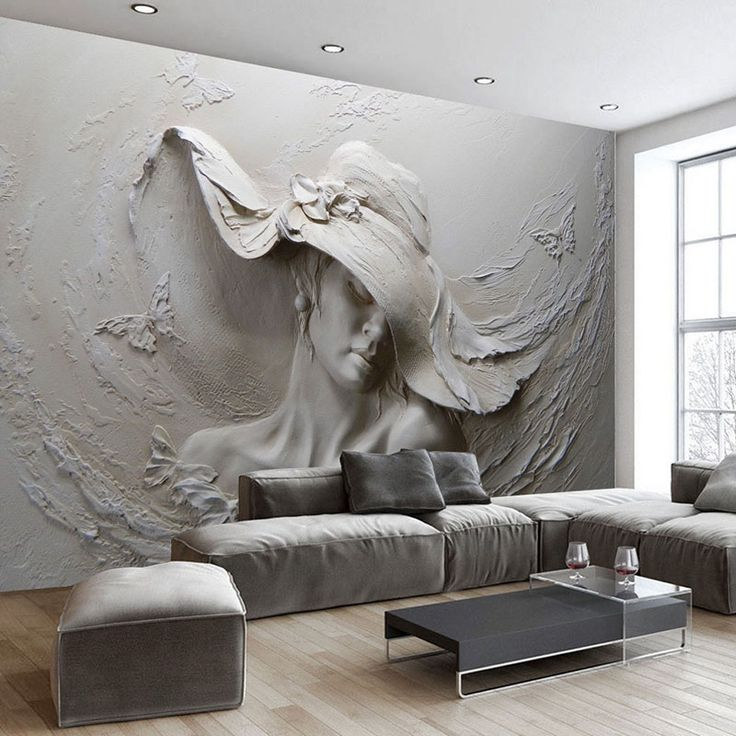 1000 ideas about wallpaper for living room on pinterest for 3d mural art in india